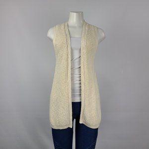 Gap Knit Vest Size XS Cream